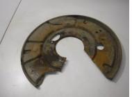 Щит опорный задний правый (пыльник тормозного диска) для Mercedes W220 S Class 1998 -2005. Артикул 537299.