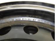 Диск стальной (штамповка) R16 для Citroen C5 2001 -2004. Артикул 555293.