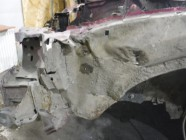 Лонжерон передний левый для Citroen C5 2001 -2004. Артикул 555303.